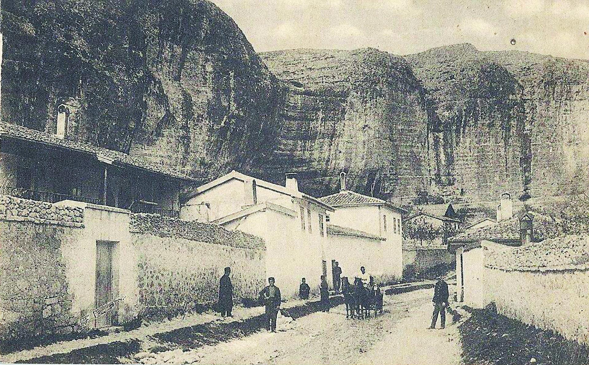 Дорога в Успенский монастырь