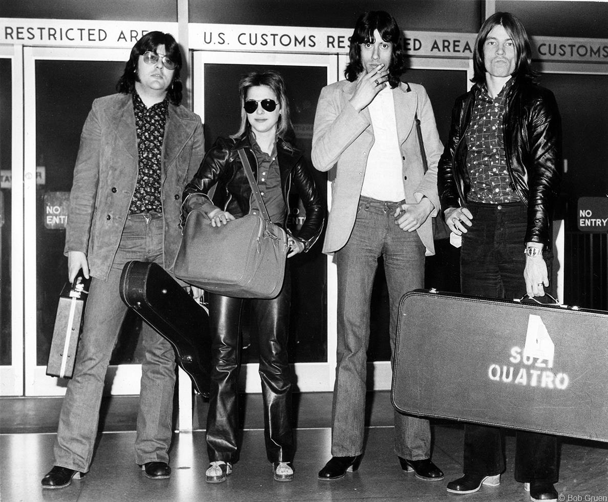 1974. «Suzi Quatro Band»