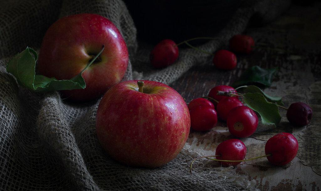 Яблоки.Сентябрь
