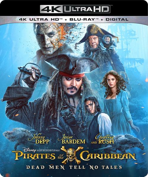 Пираты Карибского моря: Мертвецы не рассказывают сказки / Pirates of the Caribbean: Dead Men Tell No Tales (2017/BDRip/HDRip)