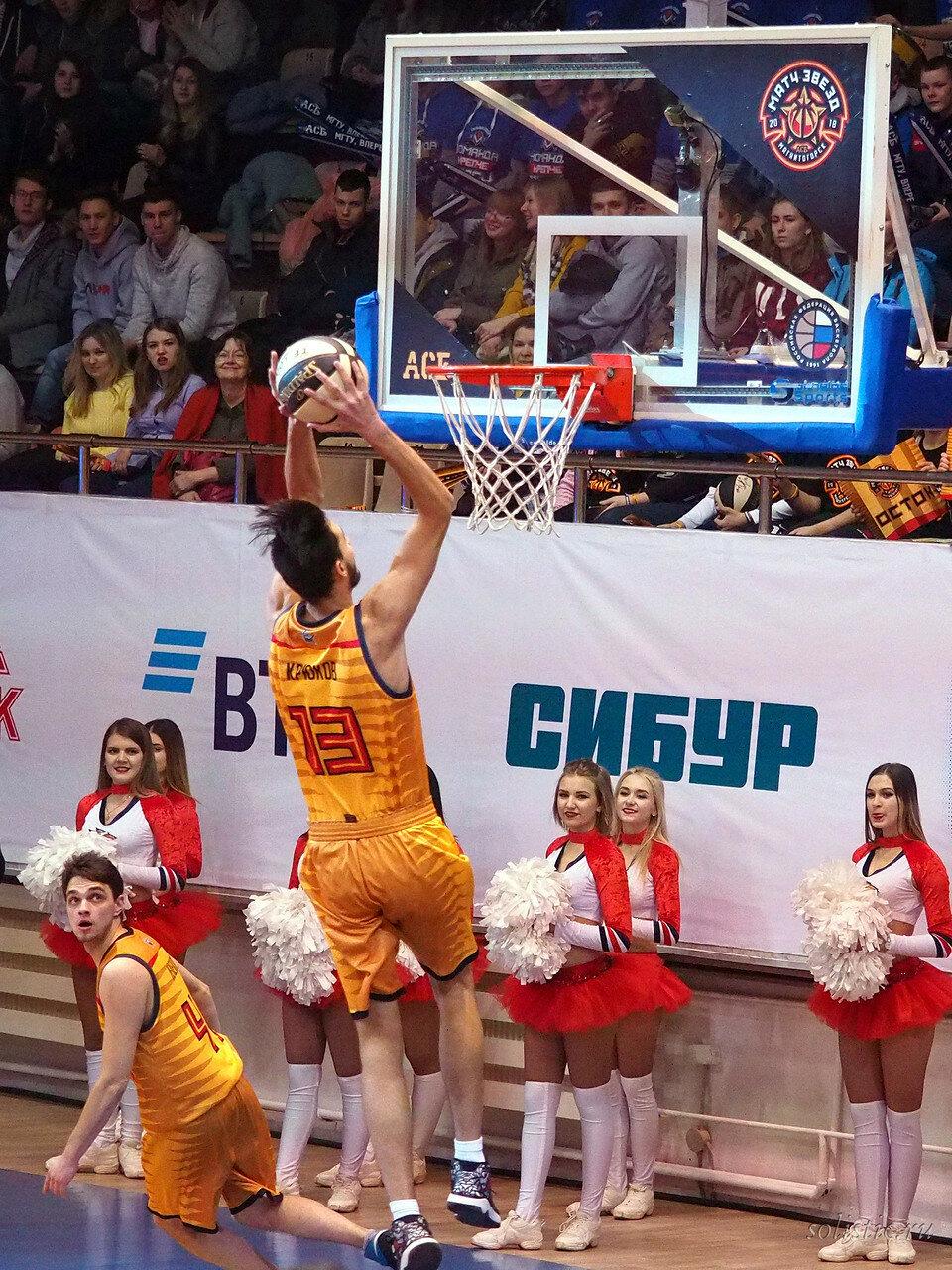 70 Матч звезд АСБ 2018 (ассоциации студенческого баскетбола)