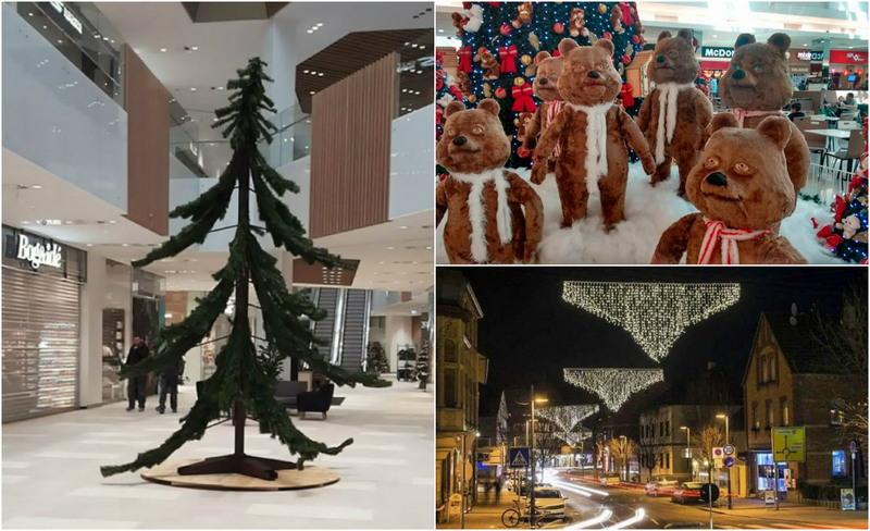 Странные и необычные новогодние декорации
