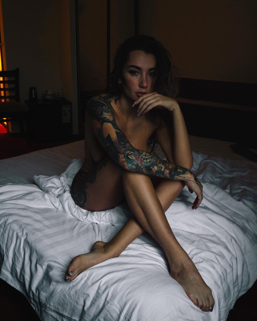 Анжелика Андерсон на снимках из Instagram
