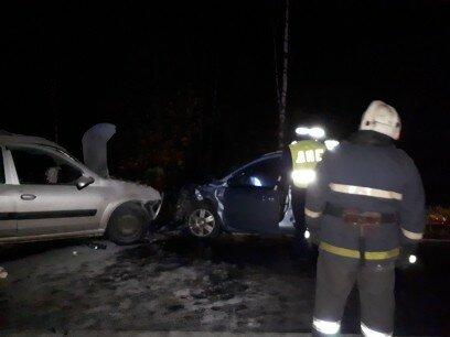 Появились фото страшной аварии в Кимрском районе Тверской области