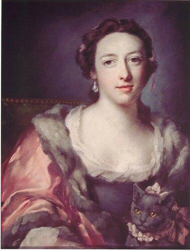 Francis Cotes, R.A. - Henrietta Child, nee Henrietta Knight