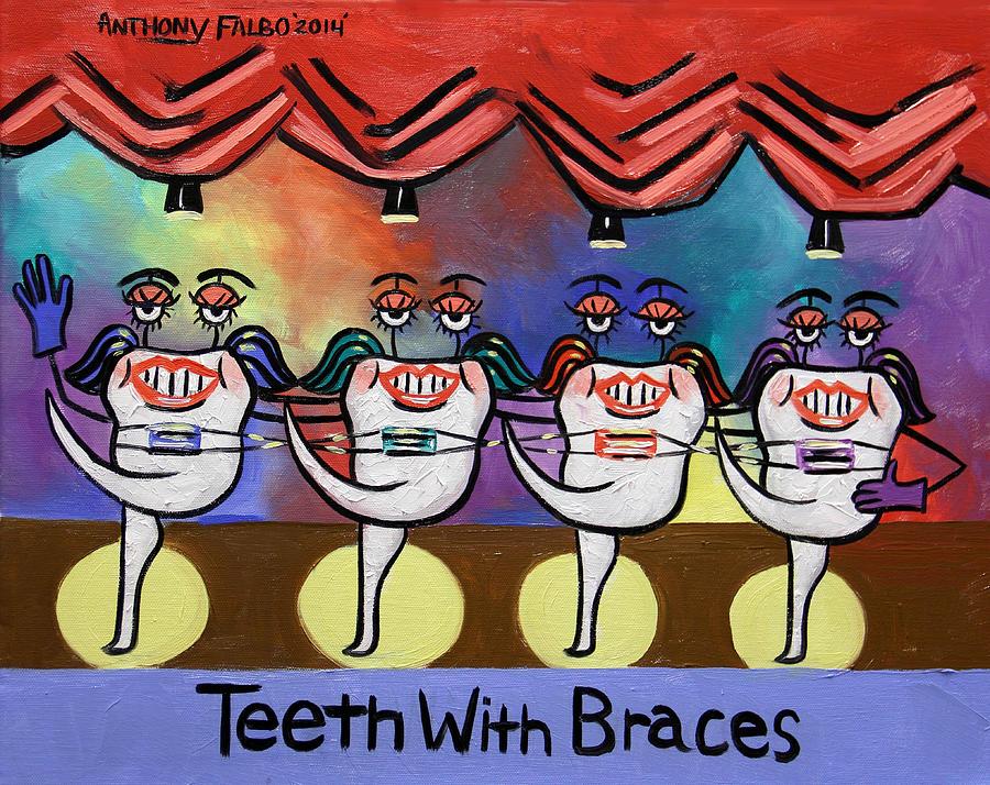 Международный день зубного врача. Танцующие зубки