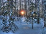 Закат на Янгантау