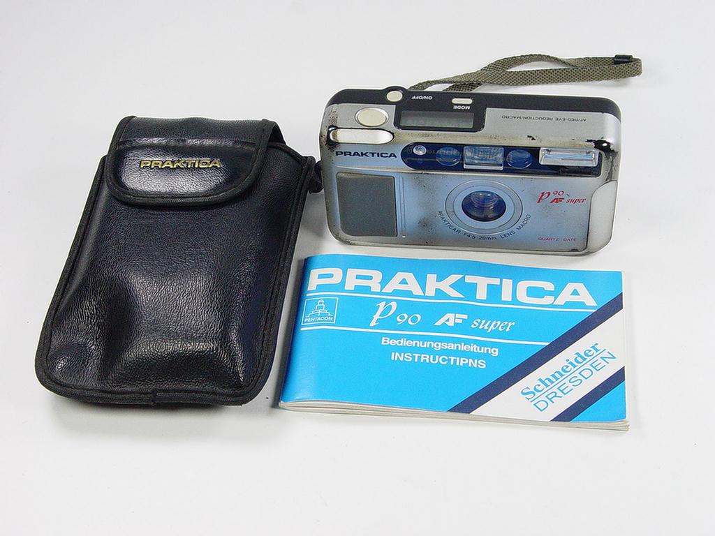 35mm film camera praktica p90 af super. used but good. ebay