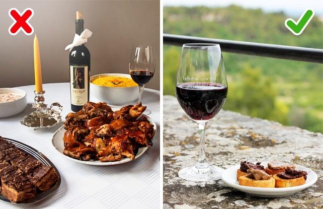Алкоголь стимулирует аппетит. Поэтому перед вечеринкой сдрузьями позаботьтесь освоем меню заранее.