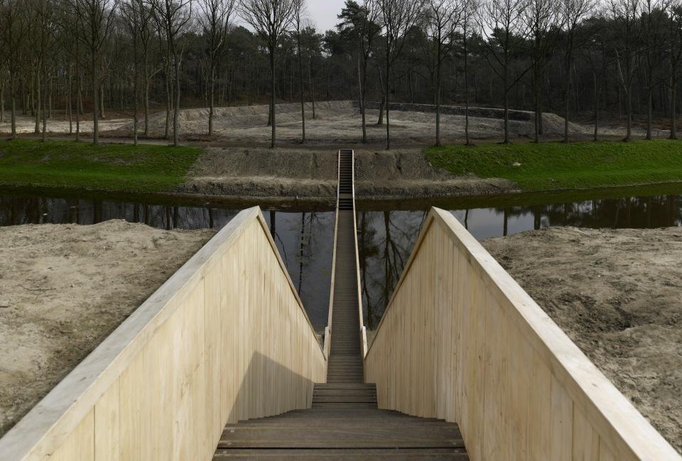 6. «Мост Моисея» — оригинальный мост в Голландии. Helix — 280-метровый пешеходный мост