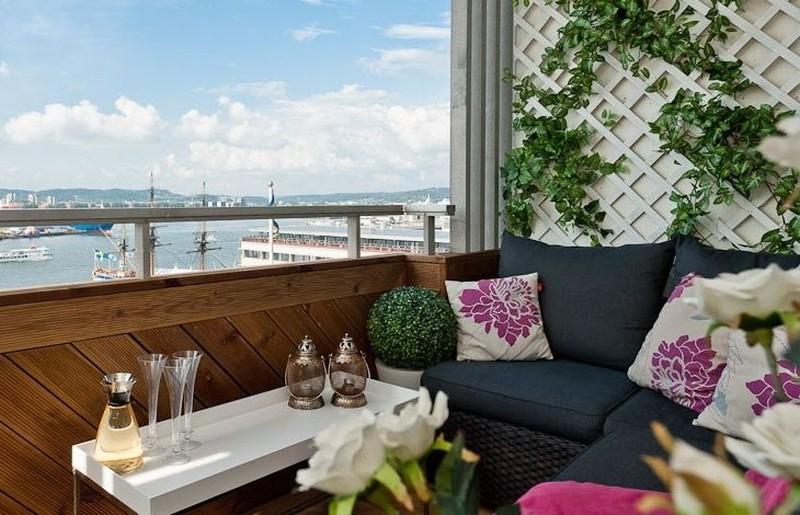 Как превратить маленький балкон в райское местечко: 7 полезных советов и 30 очаровательных примеров (30 фото)