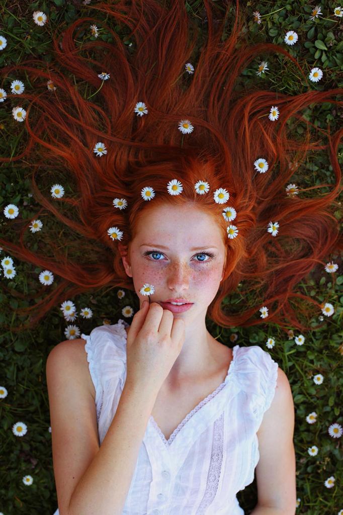 Потрясающие портреты рыжеволосых красавиц, олицетворяющие дух лета (8 фото)