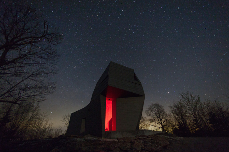 Unconventional Astronomy Tower in New Hampshire