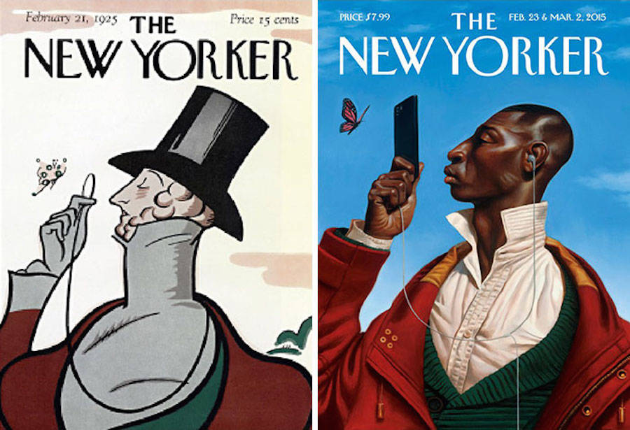 100 Years of Magazine Cover Evolution