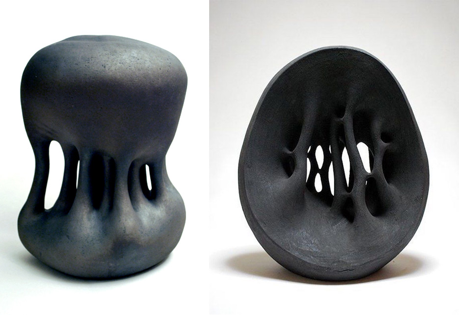 The Dripping and Undulating Ceramic Sculptures of Toru Kurokawa