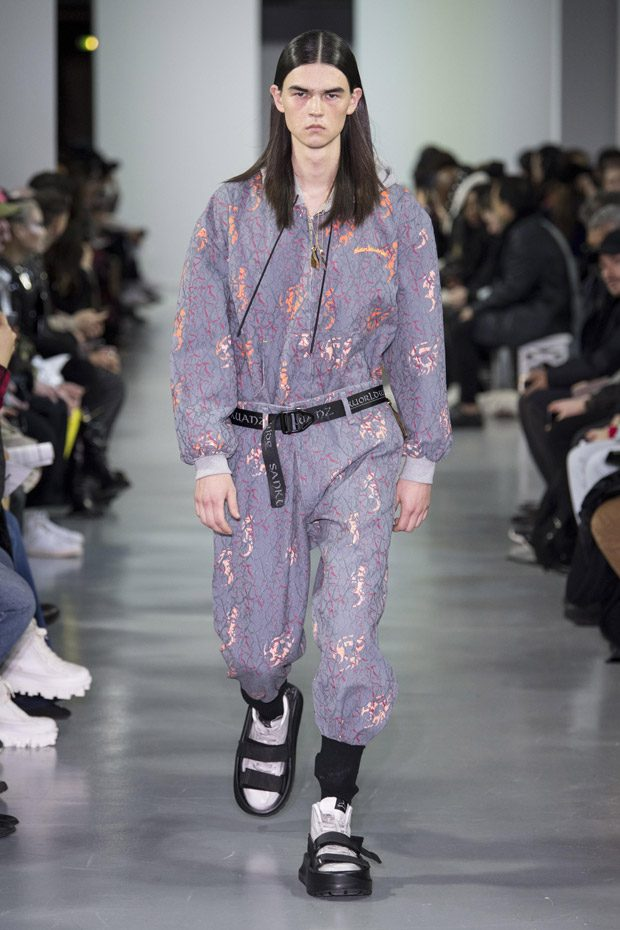 PFW: SANKUANZ Fall Winter 2018.19 Kill the Wall Collection