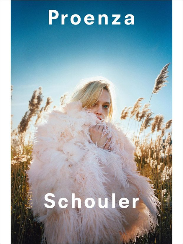 Sasha Pivovarova is the Face of Proenza Schouler SS18 Collection (5 pics)