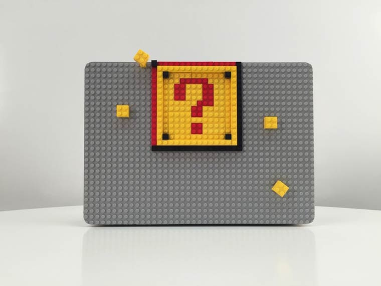 Brik Case – This gadget will let you customize your MacBook with LEGO