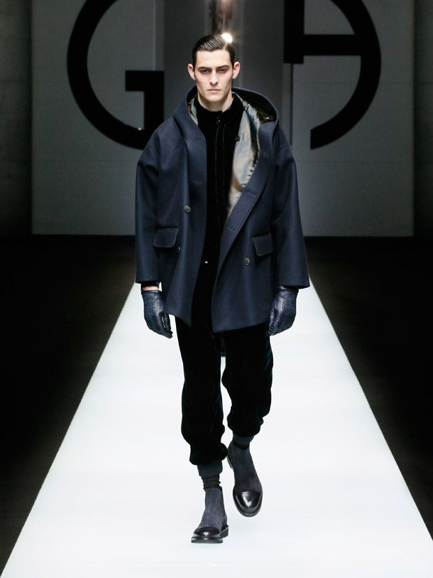 MFW: GIORGIO ARMANI Fall Winter 2018.19 Collection