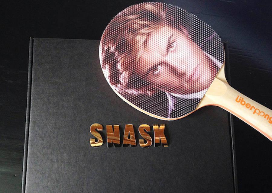 The George Michael Ping Pong Paddle (7 pics)