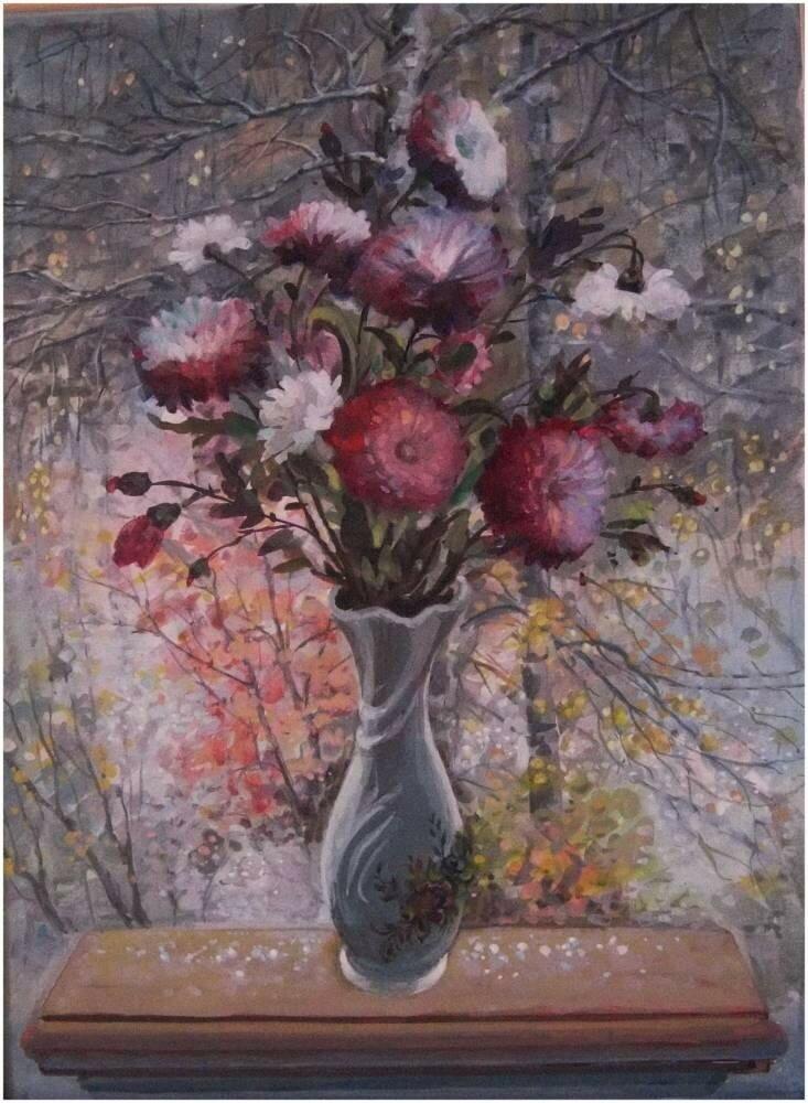 Чекалов Евгений Васильевич . Отцвели уж давно хризантемы в саду.