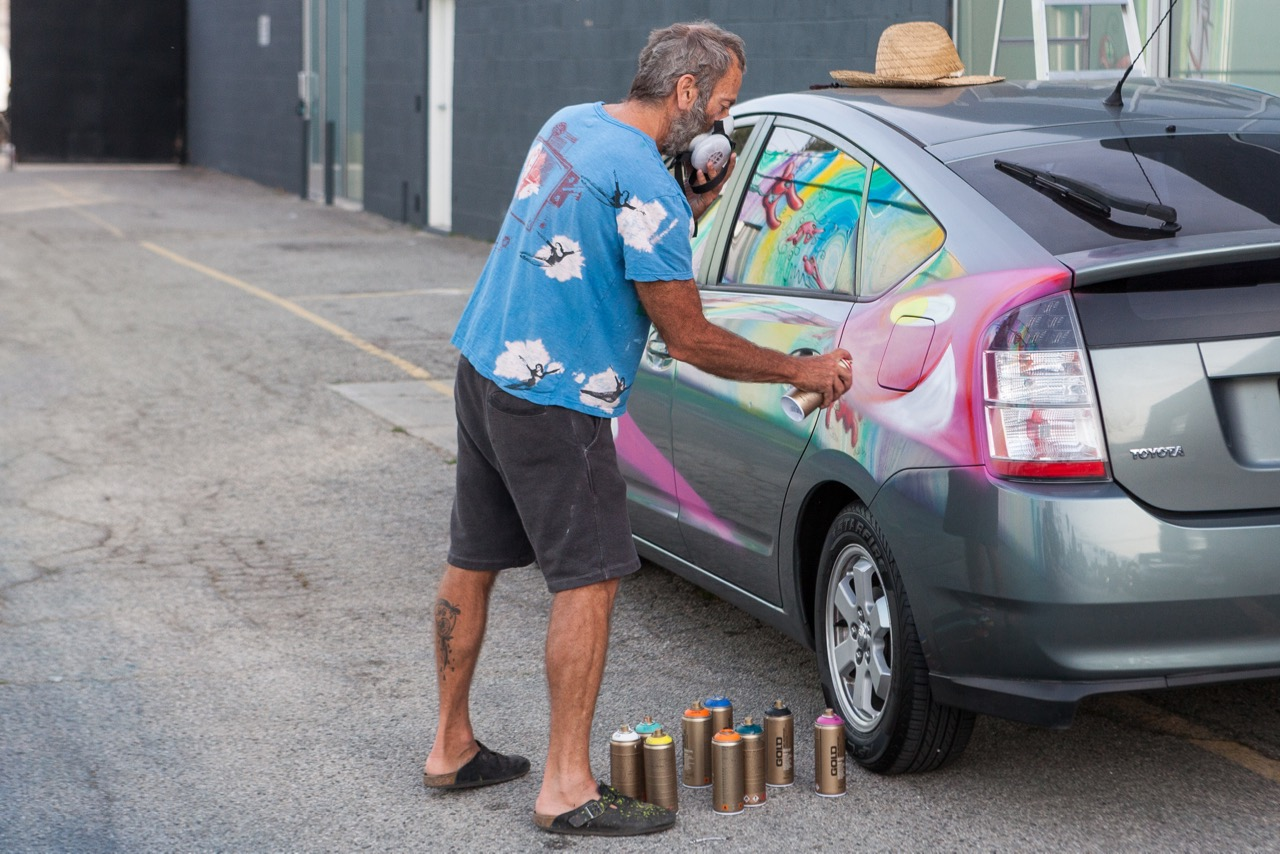Streets: Kenny Scharf (Los Angeles)