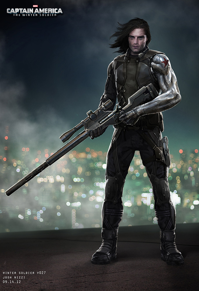 'Captain America: The Winter Soldier' Concept Art by Josh Nizzi
