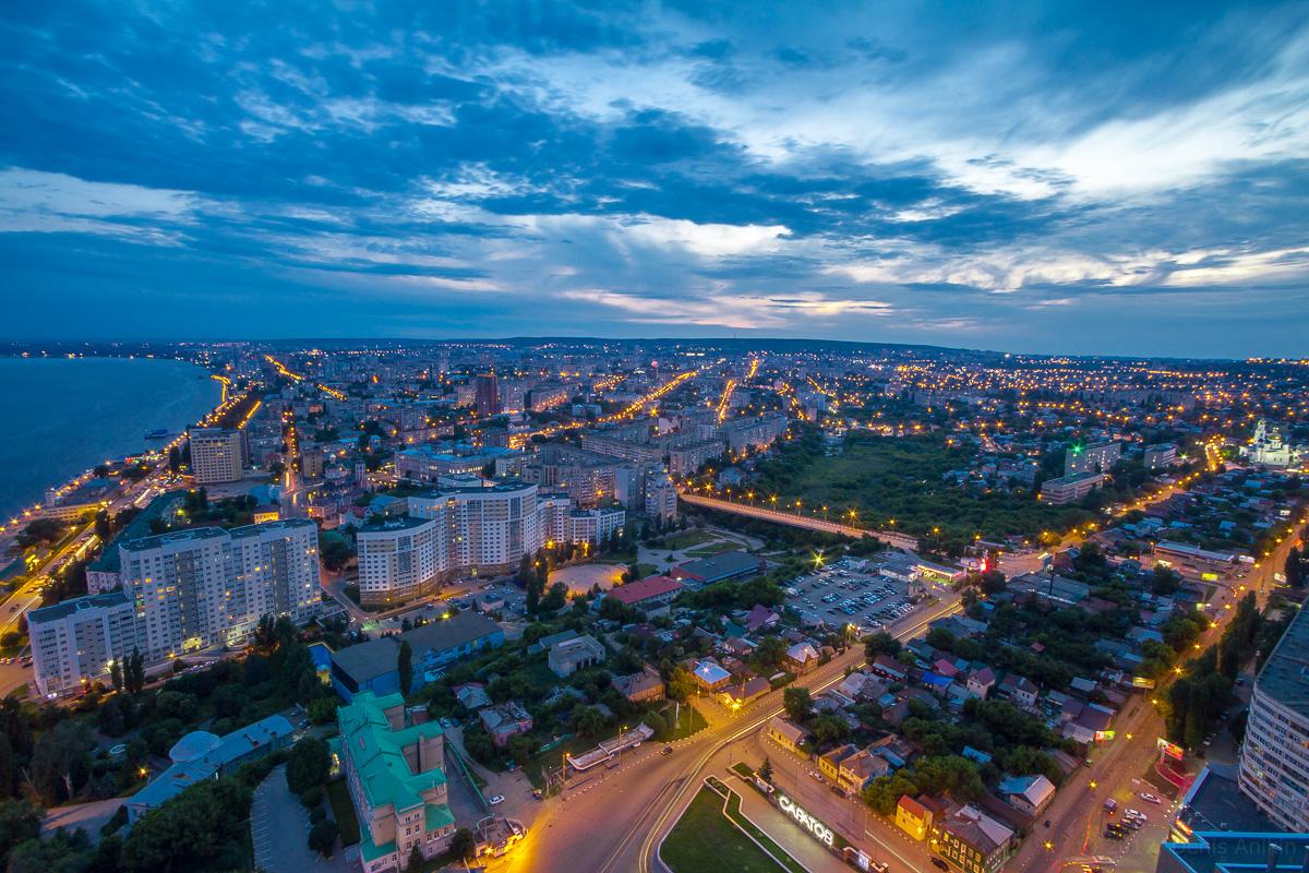 вечерний саратов с высоты фото 2