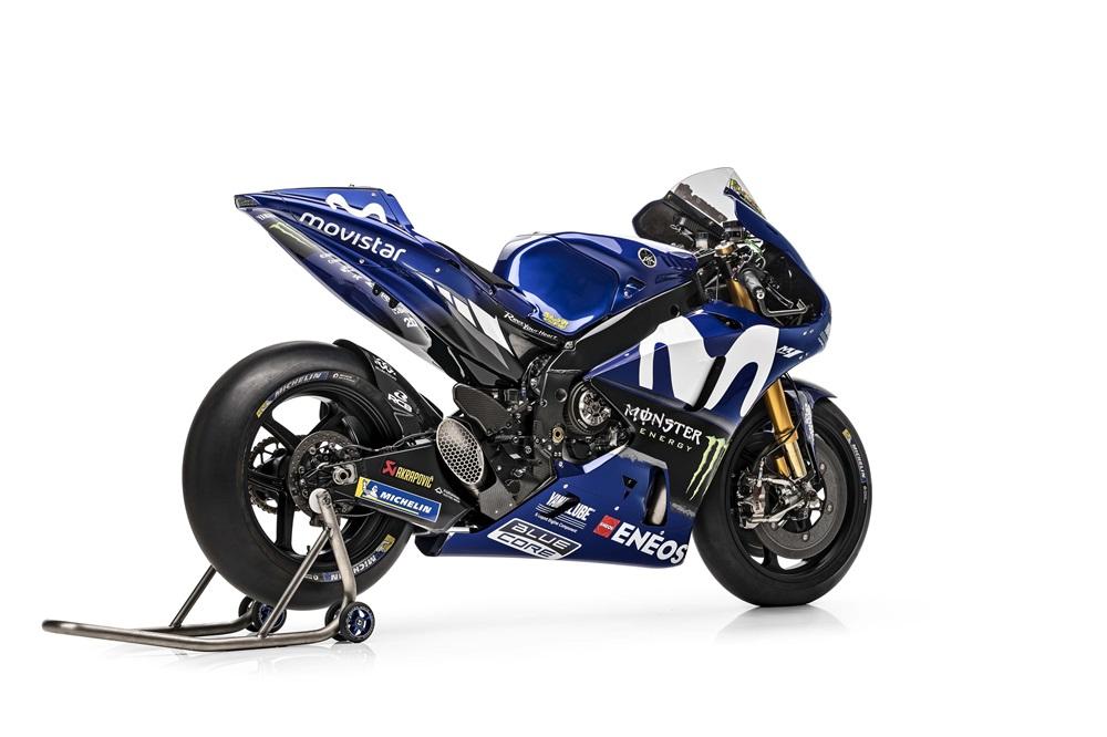Фотографии прототипа Yamaha YZR-M1 2018