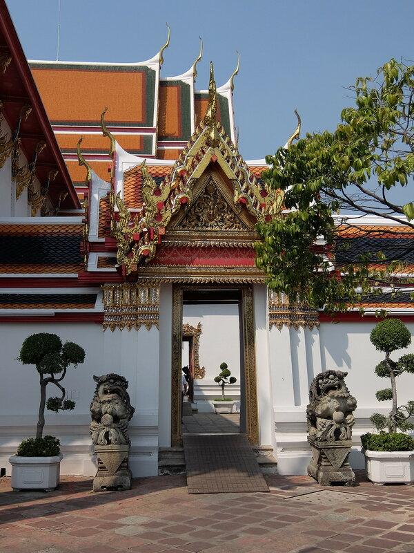Бангкок - Ворота в Храме Ват Пхо