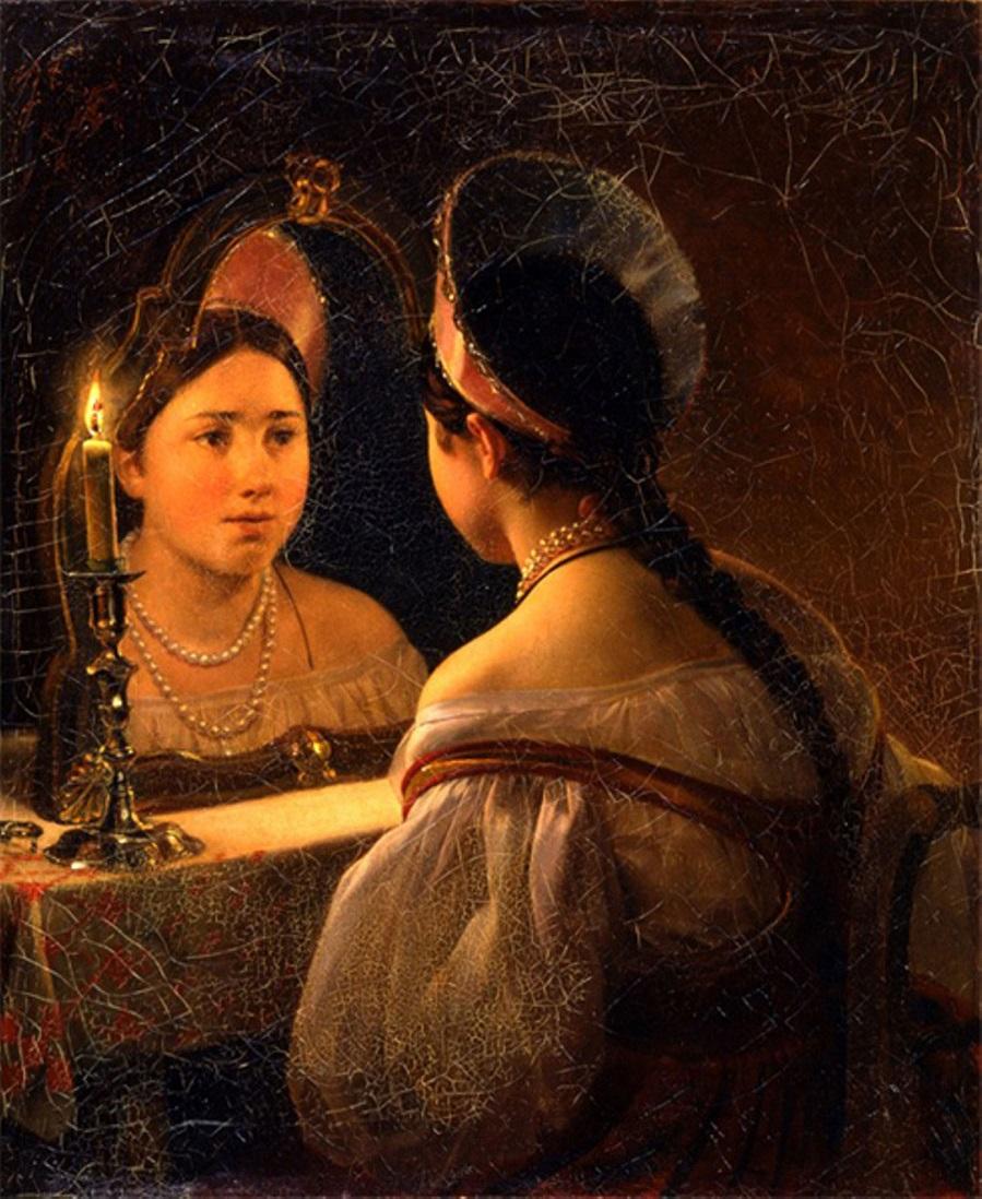 Гадающая Светлана 1836.