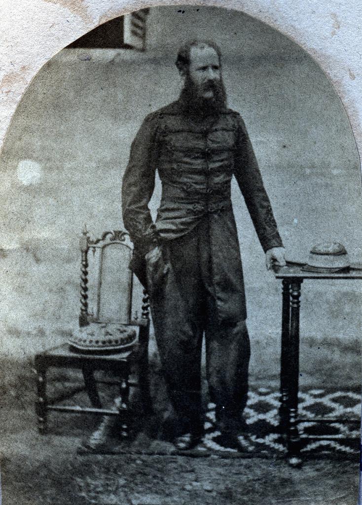 1855. Офицер армии Ост-Индской компании