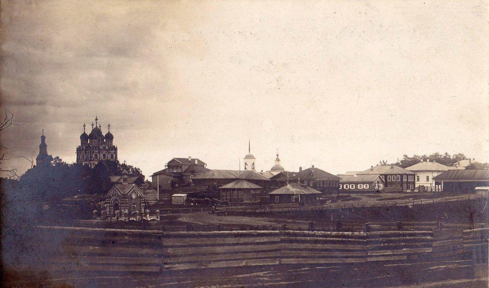 Вид на центр города с улицы 2-ая Купеческая