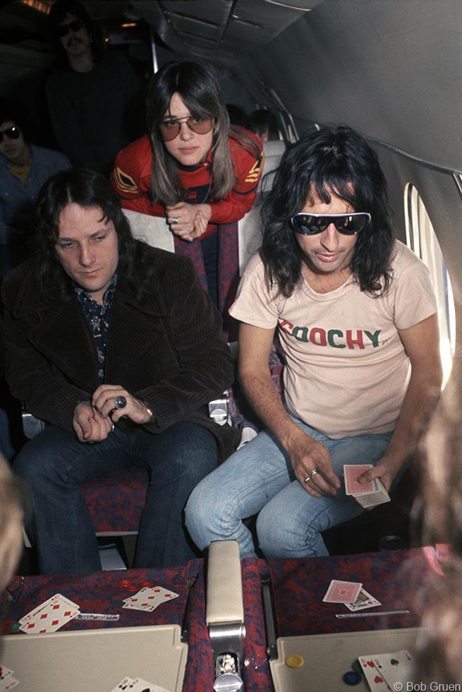 1975. Сьюзи Кватро и Элис Купер