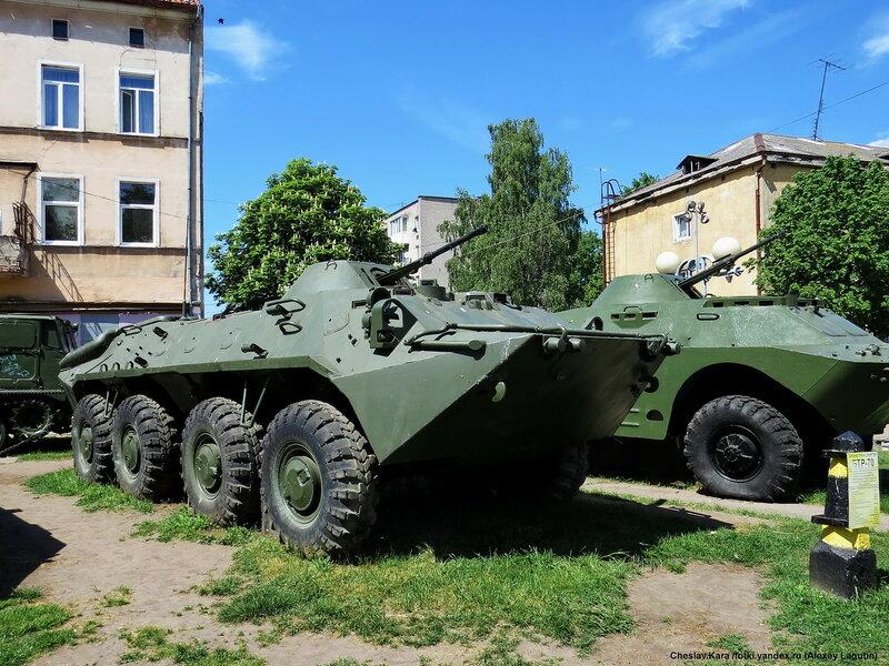Боевая техника в Советске (Тильзите)