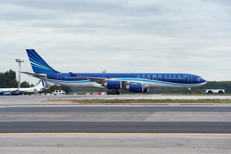 Airbus A340-542 (4K-AZ85) AZAL 0208_D706565