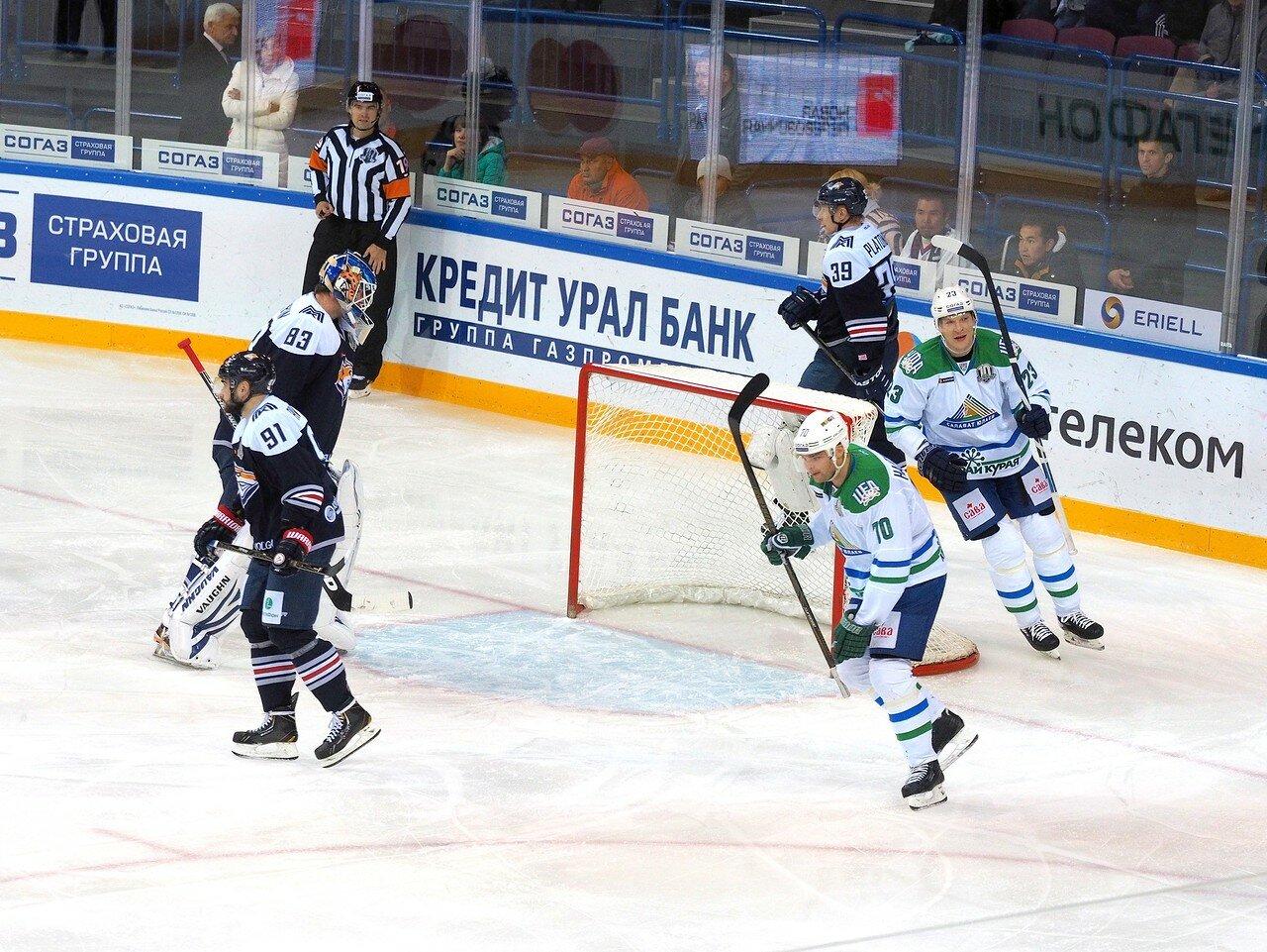 77 Металлург - Салават Юлаев 23.09.2017
