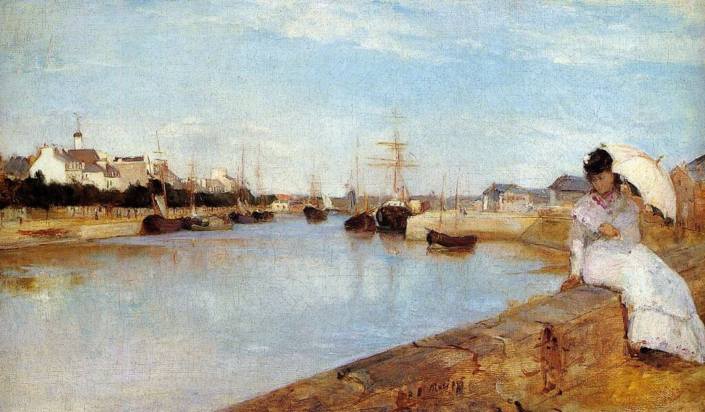 The Harbor at Lorient - 1869 - National Gallery of Art - Washington (USA).jpeg