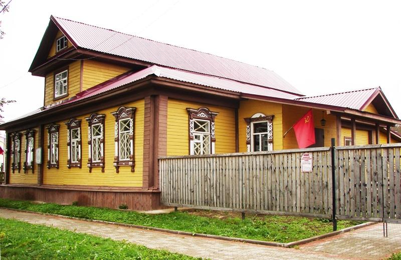 Мышкин, Вокзал Шереметевых