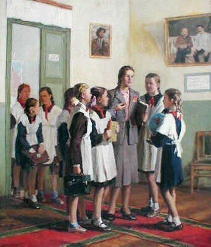 И. Владимиров В женской школе