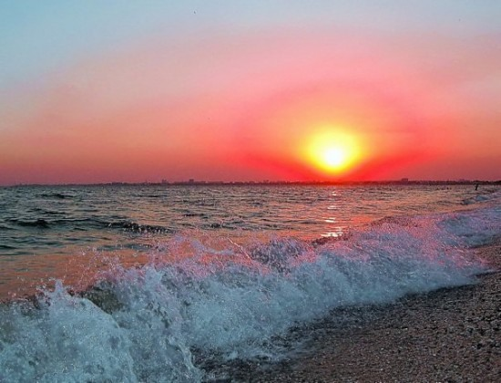 День Черного моря. Закат