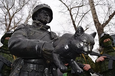 27 февраля - День Сил Специальных операций. Памятник открытки фото рисунки картинки поздравления