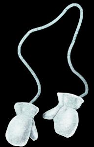 варежки