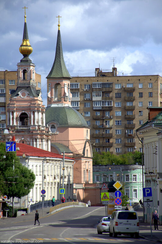 Москваход. Московские площади-3 (Авангард и классицизм на Красных воротах)