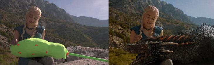 Спецэффекты в фильмах: до и после (30 фото)