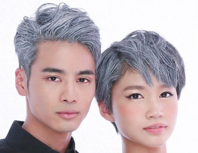 © japantrendshop     Все вокруг закрашивают седые волосы, авы, наоборот, хотите