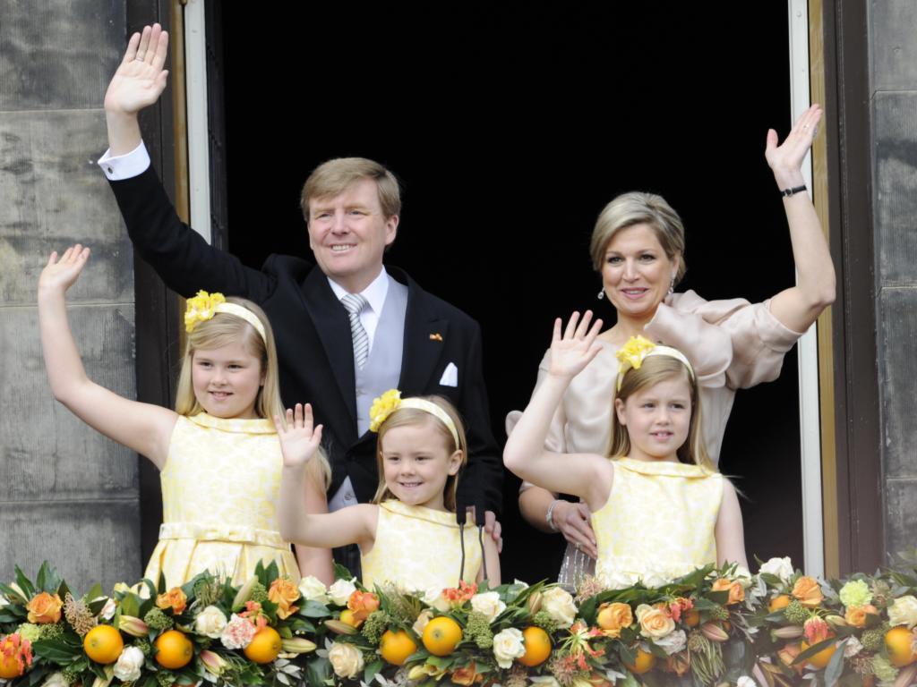 У короля и королевы Нидерландов трое.