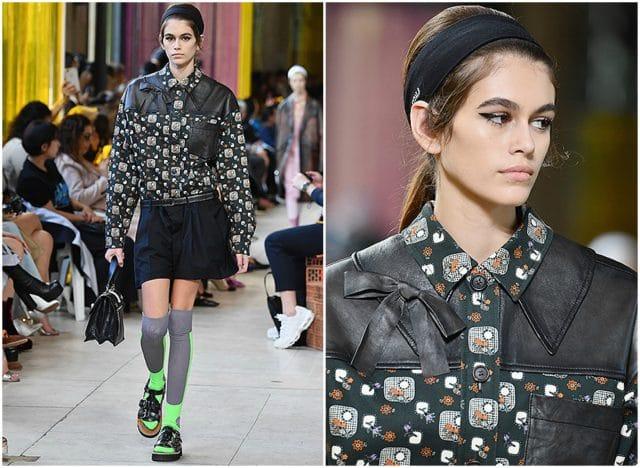 Самым большим достижением Кайи стало открытие показа Chanel .
