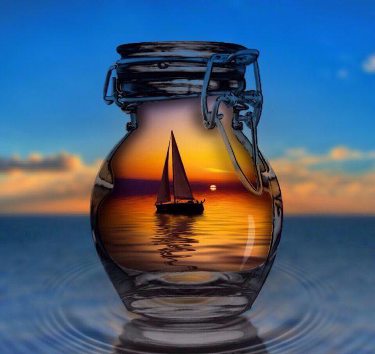 Фотоподборка корабли предметы солнце