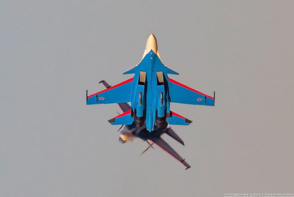 13. Су-30СМ производства Иркутского авиазавода.